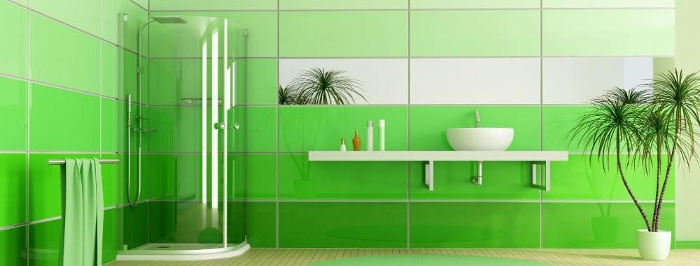 ванна зеленая
